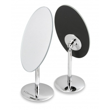 Miroir Oval Base Pivotant