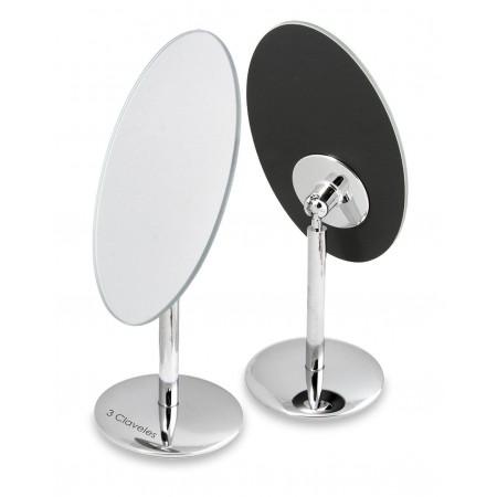 Oval Mirror Swivel Base