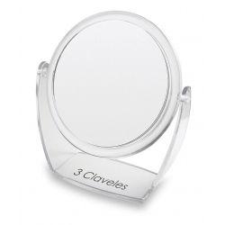 Miroir Grossissant avec Base 1x 5x