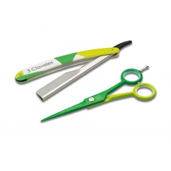 Cool Hairdressing Scissor + Razor