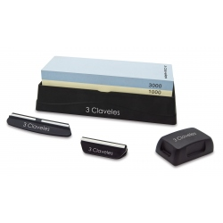 Sharpening Stone, 2 guides and repair whetstone