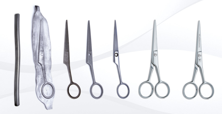Manufacturing Process Hairdressing Scissors