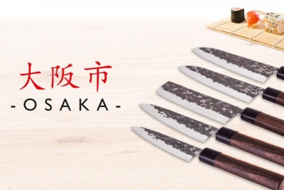 Knives: new Collection Osaka